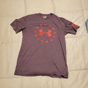 Mens M Under Armour Freedom Shirt